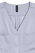 V-neck blouse - Lavender - Ladies | H&M CN 3
