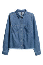 Camicia in denim - Blu denim - DONNA | H&M IT 2