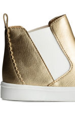 Hi-top trainers - Gold -  | H&M 4