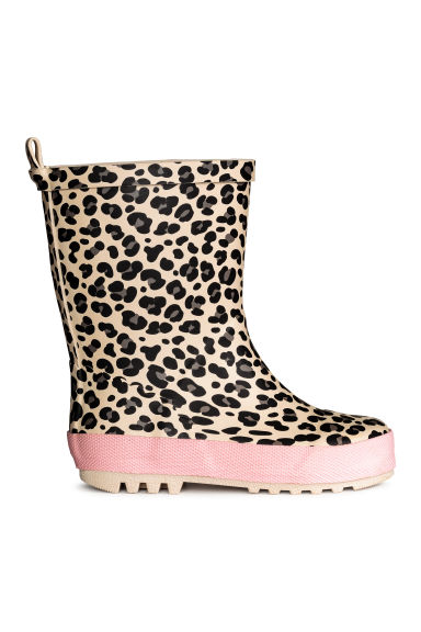 Wellingtons - Leopard print - Kids | H&M 1