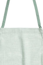 Cotton apron - Dusky green - Home All | H&M CN 2
