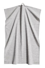 Slub-weave tea towel - Grey - Home All | H&M CA 2
