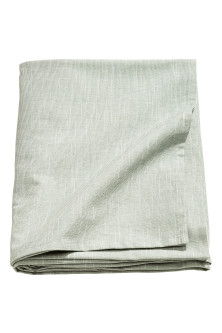 Slub-weave tablecloth