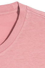 Round-neck T-shirt Regular fit - Pink - Men | H&M 3