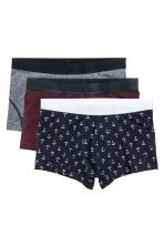 Boxer, 3 pz - Bordeaux/ancore - UOMO | H&M IT 2