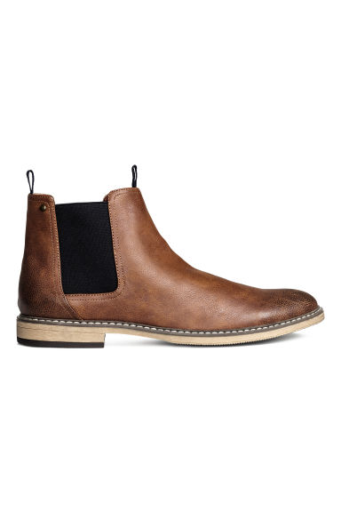 Chelsea boots - Cognac brown - Men | H&M 1