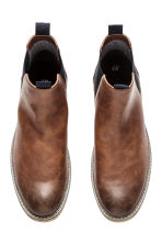 Chelsea boots - Cognac brown - Men | H&M 2