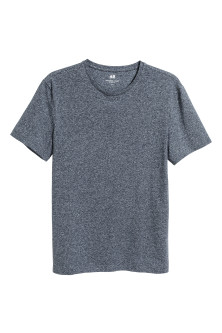 Rundhalsad t-shirt Slim fit