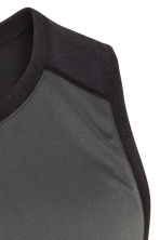 Sports vest top - Dark grey - Men | H&M CN 3