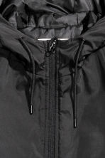 Padded jacket with a hood - Black - Men | H&M CN 3