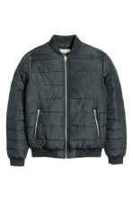 Padded jacket - Black -  | H&M 2