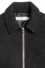 Wool-blend jacket - Black - Men | H&M CN 3