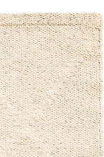 Tapis jacquard en coton - Beige clair - Home All | H&M FR 2