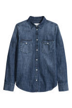 Camicia di jeans - Blu denim scuro - DONNA | H&M IT 2