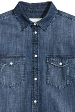 Camicia di jeans - Blu denim scuro - DONNA | H&M IT 3