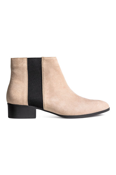 Ankle boots - Light beige - Ladies | H&M CN 1