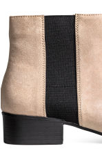 Ankle boots - Light beige - Ladies | H&M CN 4