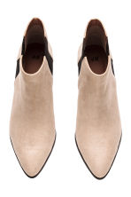 Ankle boots - Light beige - Ladies | H&M CN 2