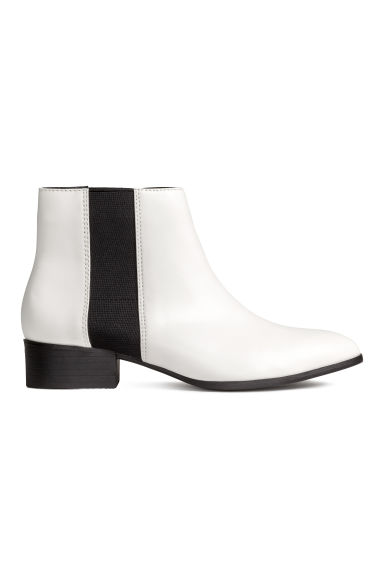 Ankle boots - White - Ladies | H&M CN
