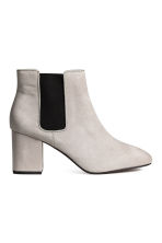 Ankle boots - Light grey - Ladies | H&M 1