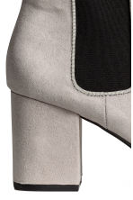 Ankle boots - Light grey - Ladies | H&M 4