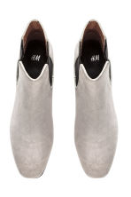 Ankle boots - Light grey - Ladies | H&M 2