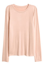 Long-sleeved top - Powder - Ladies | H&M CN 2