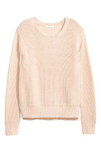 Knitted jumper - Powder - Ladies | H&M 2