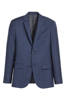 Blazer aus Wolle Regular Fit