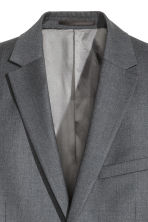 Blazer in lana Regular fit - Grigio scuro - UOMO | H&M IT 4