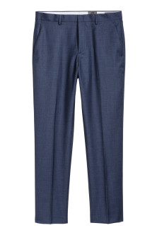 Wool suit trousers Regular fit