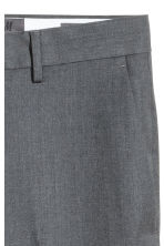 Wool suit trousers Regular fit - Dark grey - Men | H&M CN 4