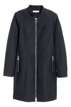 Textured jacket - Dark blue - Ladies | H&M 2