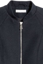 Textured jacket - Dark blue - Ladies | H&M 3