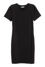 Jersey dress - Black - Ladies | H&M CA 2