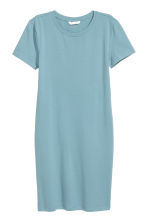 Jersey dress - Turquoise -  | H&M CA 2