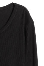 Cropped top - Black - Ladies | H&M CN 3
