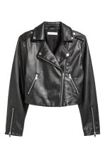 Biker jacket - Black - Ladies | H&M 2