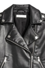 Biker jacket - Black - Ladies | H&M GB 3