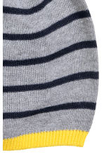 Cotton-blend hat - Grey/Striped - Kids | H&M CN 2