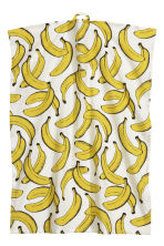Patterned tea towel - White/Bananas - Home All | H&M CN 1