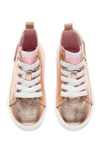 Coated trainers - Rose gold - Kids | H&M 3