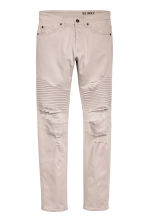 Biker jeans - Light beige - Men | H&M 2