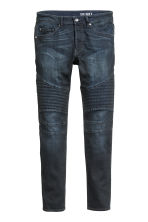 Biker jeans - Dark denim blue - Men | H&M CN 2