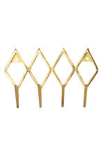 Metal hanger - Gold - Home All | H&M CN 1