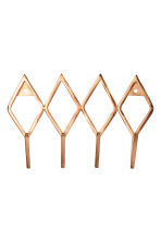 Metal hanger - Copper - Home All | H&M CN 1