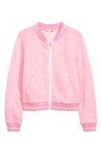 Sweat zippé - Rose chiné -  | H&M FR 2