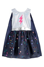 Costume con mantello - Blu scuro/stelle - BAMBINO | H&M IT 2