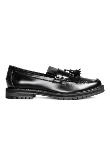 Chunky-soled loafers - Black - Men | H&M CN 1
