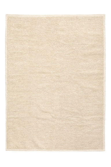 Tappeto in misto lana - Beige chiaro - HOME | H&M IT 1